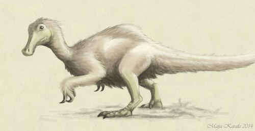 deinocheirus mirificus pieni maija karala ornithomimosauria