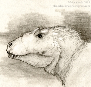 lythronax tyrannosaur maija karala
