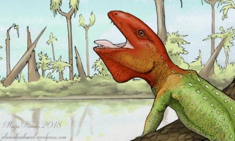 petrolacosaurus kuopio näyte